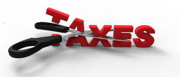 cut taxes